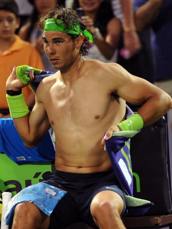 gael monfils shirtless. Rafael+nadal+shirtless+