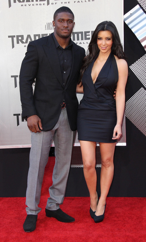 reggie bush. Reggie Bush and Kim Kardashian