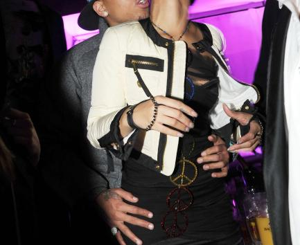 Rihanna and Chris Brown Picture