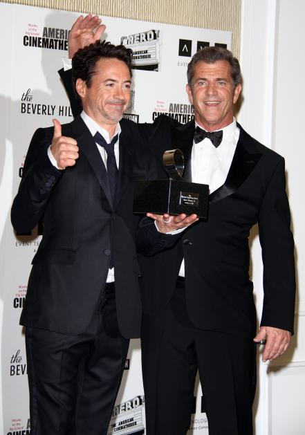 Robert Downey Jr. and Mel Gibson