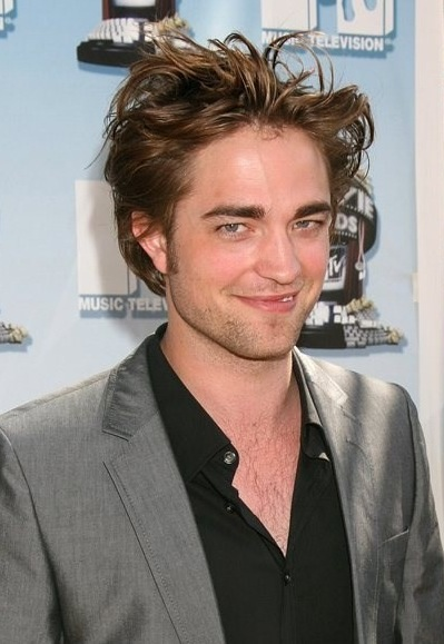 old hairstyle. Robert Pattison Hair: Old