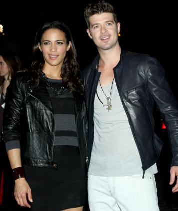 paula patton thicke baby. Robin Thicke, Paula Patton