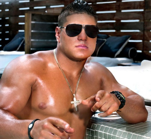 jersey shore ronnie hairstyle. Ronnie Magro from Jersey Shore