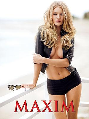 rosie huntington whiteley maxim. Rosie Huntington-Whiteley in