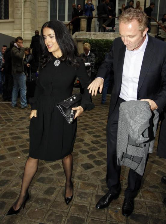 lettfrogudod: salma ha... Salma Hayek Husband Occupation