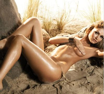 Sarah Mutch Nude. Taken from a Maxim photo shoot, this is a shot of Sarah ...