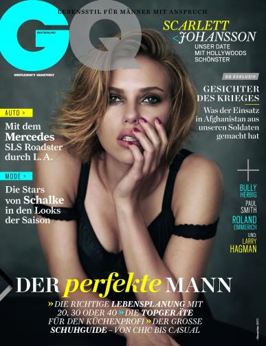 Scarlett Johansson  on German GQ