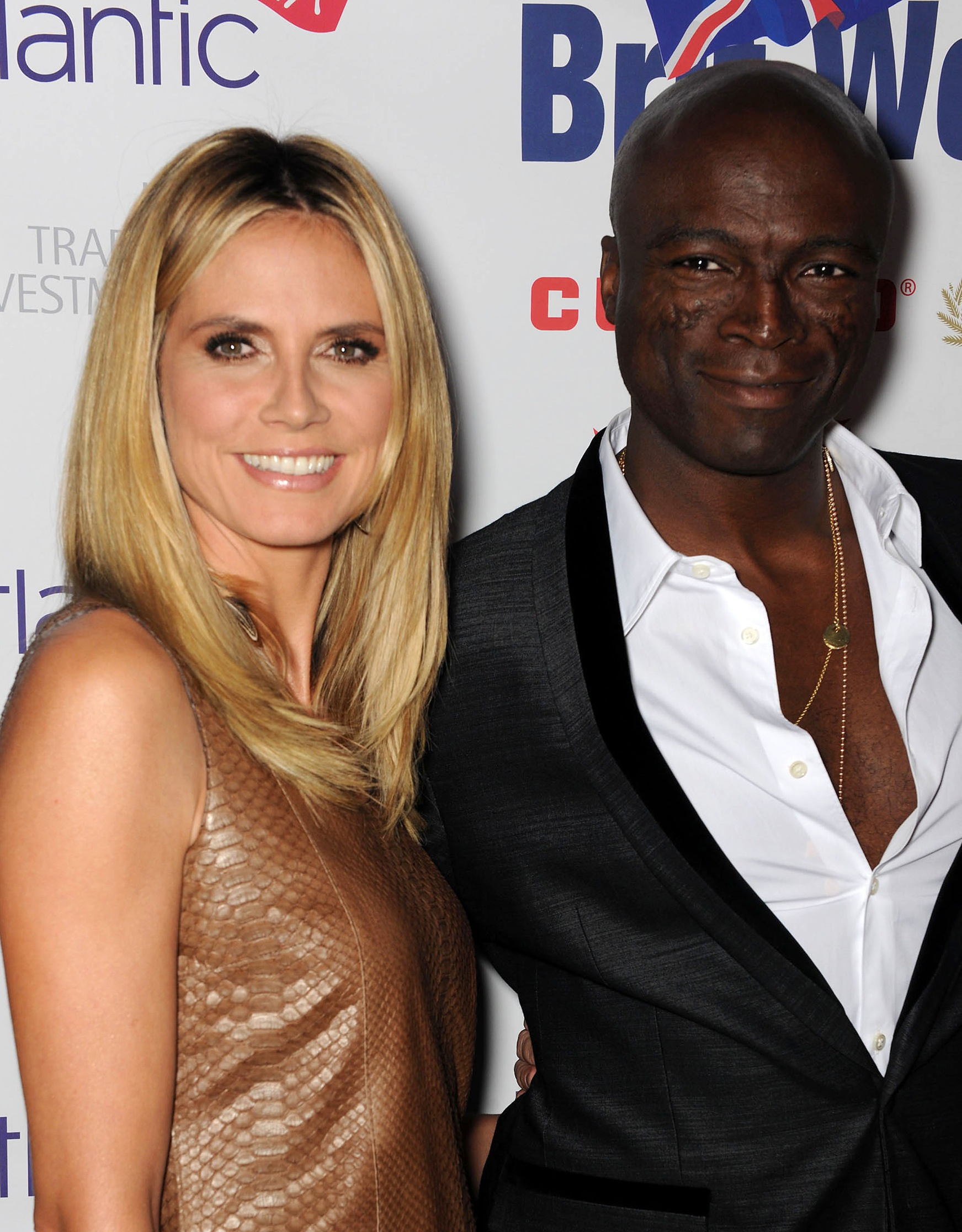 heidi klum and seal photos