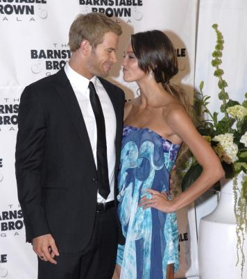 Sharni Vinson and Kellan Lutz Photo