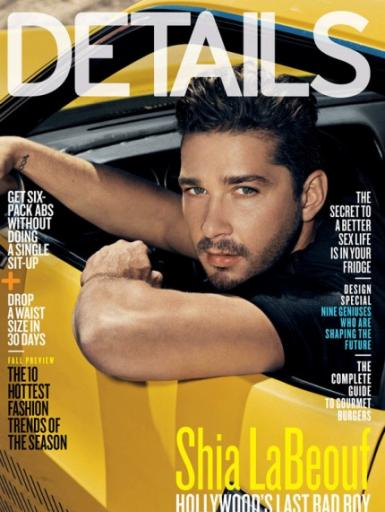 shia labeouf and megan fox together. Shia LaBeouf Details Cover