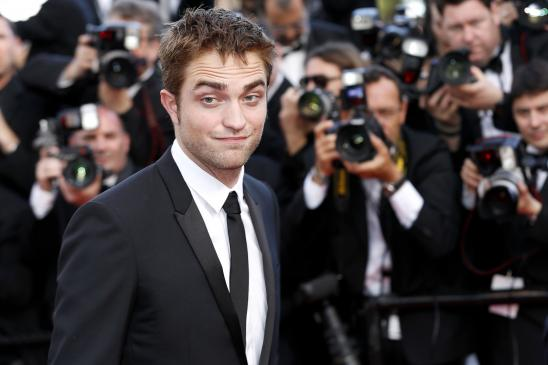 Smirk from Robert Pattinson