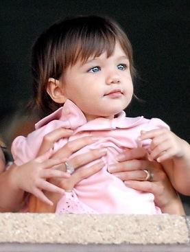 suri cruise as a baby