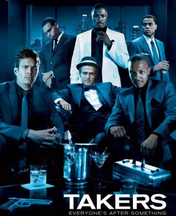 Takers (2010) DVDSCR XviD-TWiZTED [2 Linki]