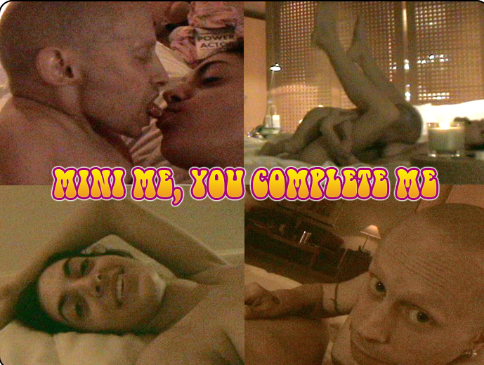 Here are actual still shots of the Ranae Shrider and Verne Troyer sex tape.