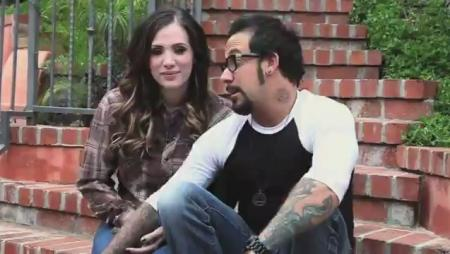 A.J. McLean Baby Announcement