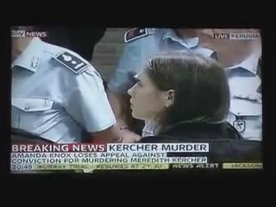amanda knox verdict 400x300 Amanda Knox Verdict: Not Guilty, Murder Conviction Overturned!