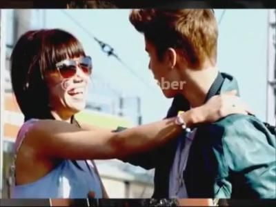 Carly Rae Jepsen and Justin Bieber -