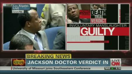 Dr. Conrad Murray Verdict: GUILTY of Manslaughter - The Hollywood ...