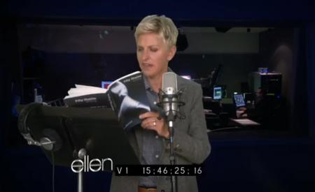 Ellen Reads 50 Shades of Grey
