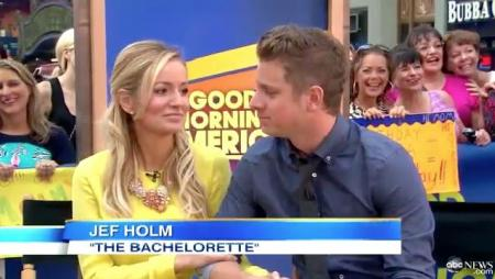 Emily Maynard, Jef Holm Good Morning America Interview