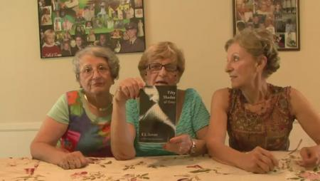 Grandmothers Read 50 Shades of Grey