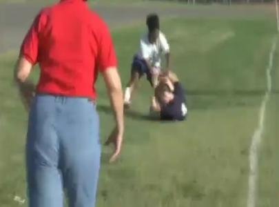 High School Soccer Assault