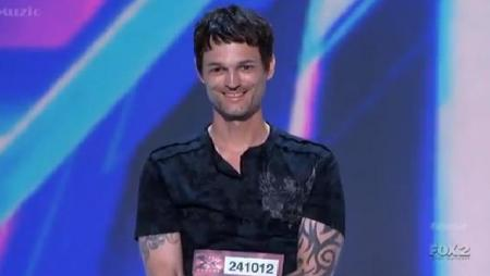Jeffrey Gutt X Factor Audition