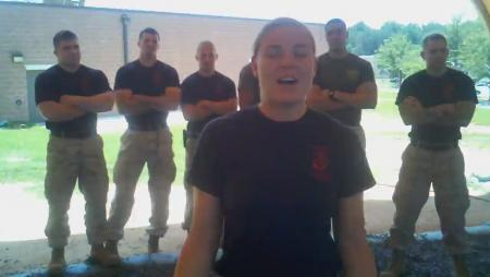 Marine Asks Justin Timberlake to Marine Corps Ball