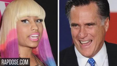 Nicki Minaj Endorses Mitt Romney