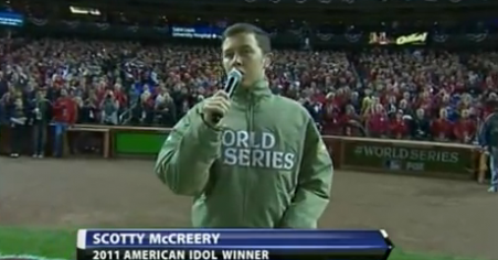 Scotty McCreery National Anthem Performance