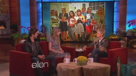Zac Efron and Taylor Swift on Ellen