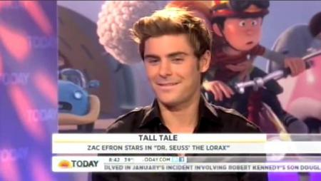 Zac Efron Today Show Interview